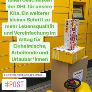 Einweihung Paketstation