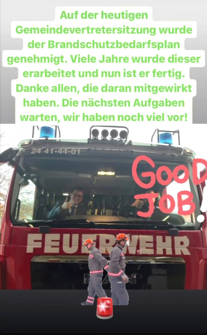Brandschutzbedarfsplan für Boltenhagen. Seit 2017! bereits in der Beratung, kam es nun endlich zu einer Entscheidung für den Brandschutzbedarfsplan.
