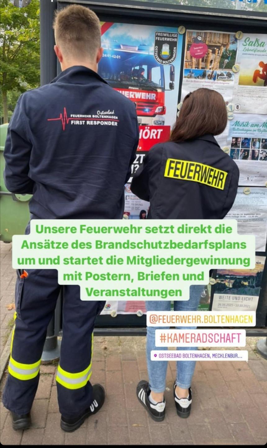 RETTEN GEHÖRT ZU UNS! DU JETZT AUCH? Die ehrenamtliche Feuerwehr des Ostseebades Boltenhagen heißt neue Mitglieder herzlich willkommen!