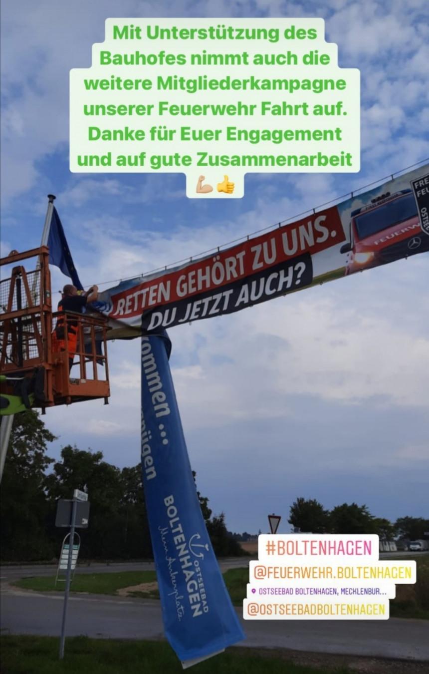 Werde auch Du Mitglied unserer freiwilligen Feuerwehr in Boltenhagen.